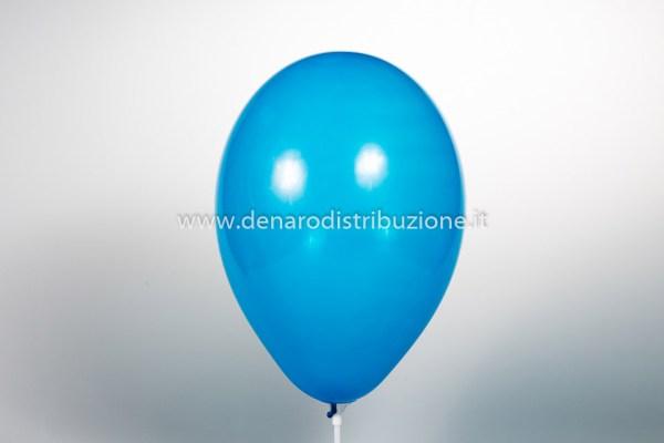 """Palloncino Tondo Blu scuro Pastello 10""""/25 cm. (25 Pezzi)-0"""