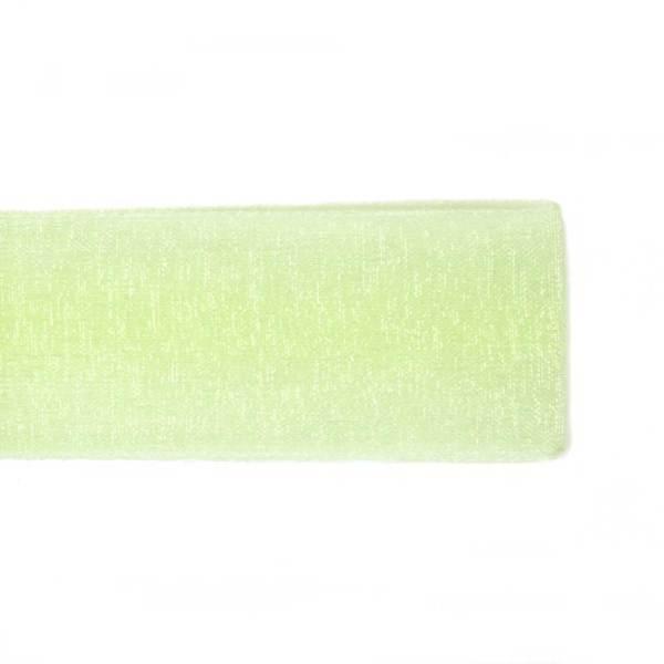 Nastro Organza Verde Chiaro 16 mm-0