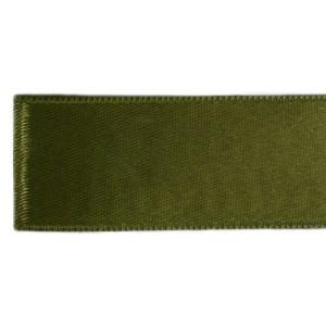 Nastro doppio raso 6 mm (200 m) verde militare-0