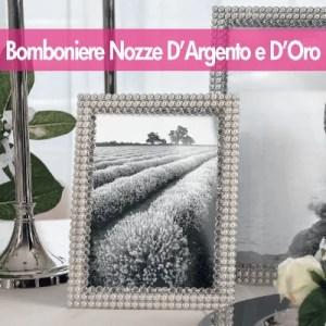Bomboniere Nozze D'Argento e Nozze D'Oro