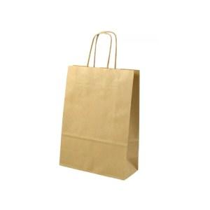 SHOPPER BAGS CORDINO | AVANA H 36 CM (25 PEZZI)-0