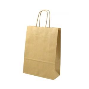 SHOPPER BAGS CORDINO | AVANA H 41 CM (25 PEZZI)-0