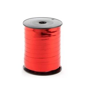 Nastro carta metallizzato rosso lucido
