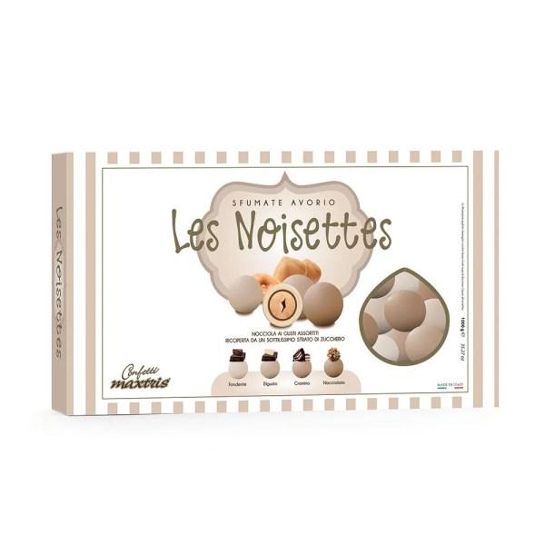 Confetti maxtris cioconocciola sfumato avorio