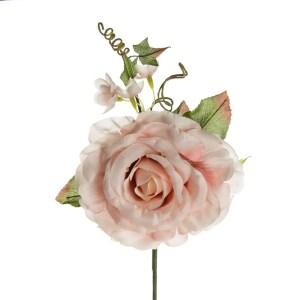 fiore artificiale bomboniere rosa rosa antico