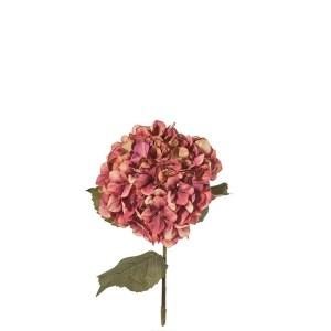 fiore artificiale ortensia colore viola 84 cm