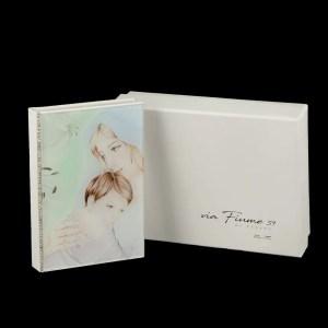 Vangelo Grande Maternita' Con Fiori Strass E Box 10 X 14-0