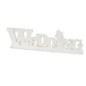 Shabby Scritta Wedding Cm 53X15-0