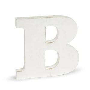 Shabby Lettera B Cm.1,9 X H.10-0