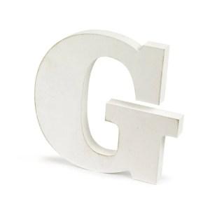 Shabby Lettera G Cm.1,9 X H.10-0