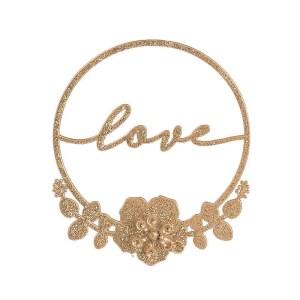 Cerchio Oro Glitter-Love (12Pz).-0