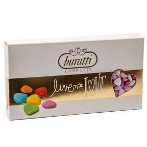 Confetti Cuori Sfumati Rosa 1 kg-0