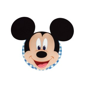 Bigliettino Mickey Mouse Blu Diam. 12 cm (20 PZ)-0
