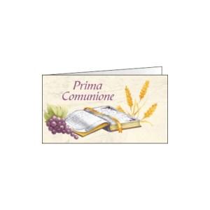Bigliettino Bomboniera Comunione Vangelo (Pz. 200)-0