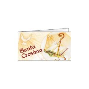 Bigliettino Bomboniera Cresima Colomba (Pz. 200)-0