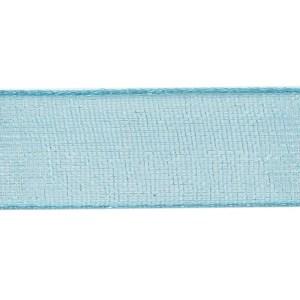 Nastro Organza Turchese 20 mm| 50 MT-0