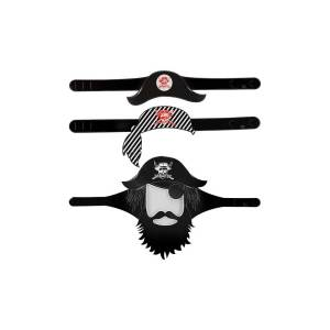 Decorazioni feste e compleanni tema pirati (5 pz)-0