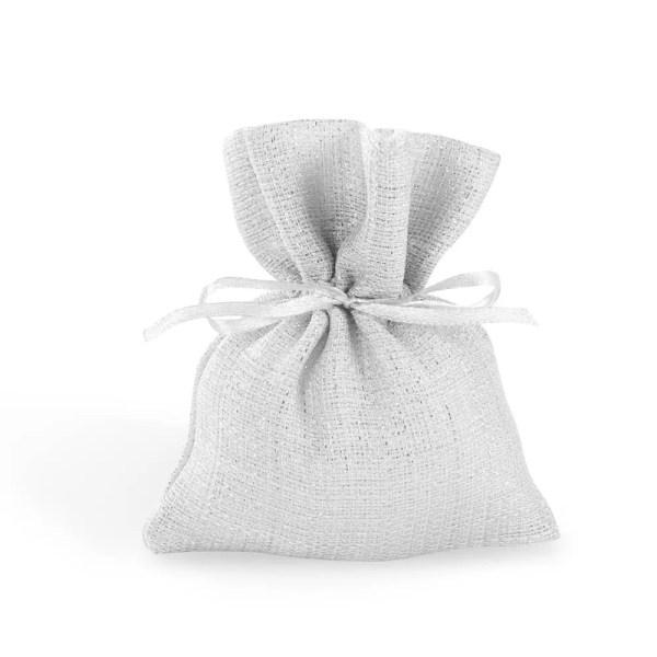 Sacchetto portaconfetti piccolo bianco