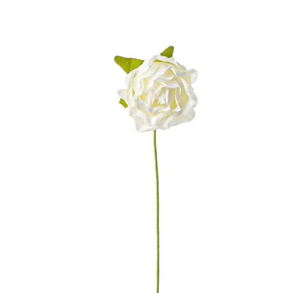 Rosellina decorativa panna