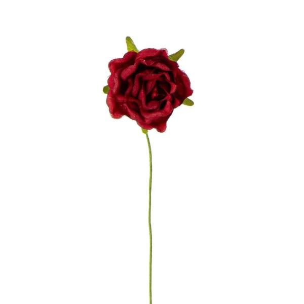 Applicazione rosellina rosso