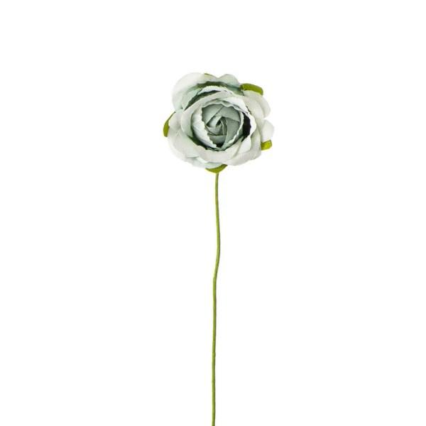 Applicazione bomboniera rosellina vintage verde