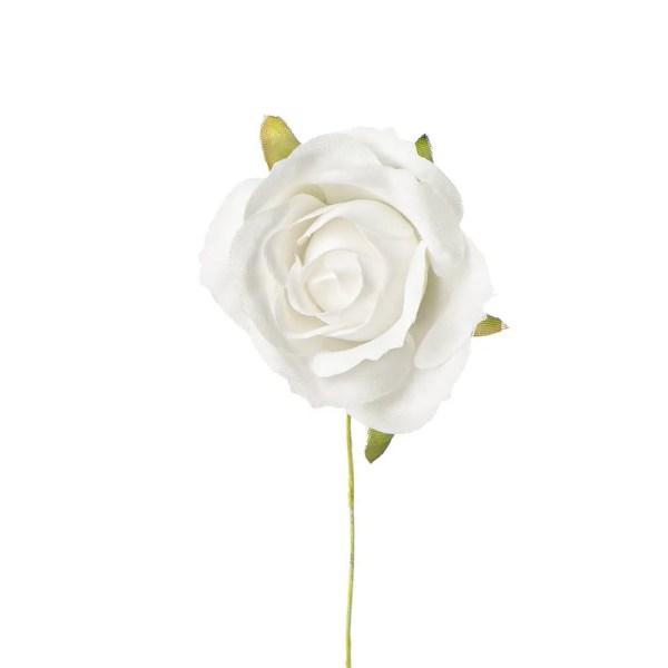 Applicazione rosellina media bianca
