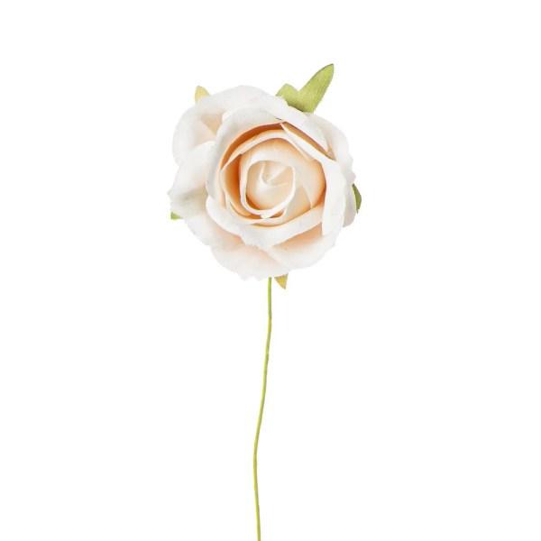 Rosellina decorativa media cipria-0