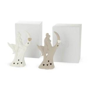 Bomboniera coppia matrimonio con led e scatola regalo.-0