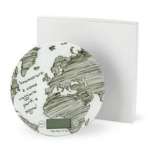 Bomboniera utile matrimonio| bilancia in vetro decorata con scatola.-0