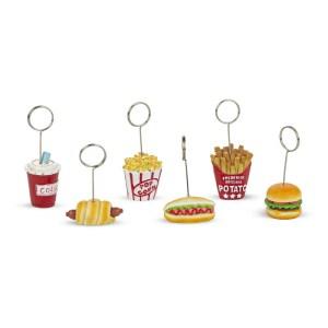 Bomboniera fast food con memoclip