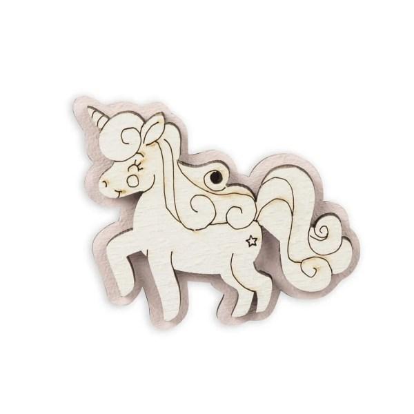Magnete unicorno nascita bimba -0