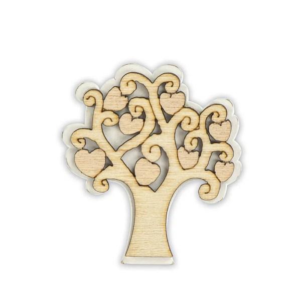 Decoro in legno albero della vita