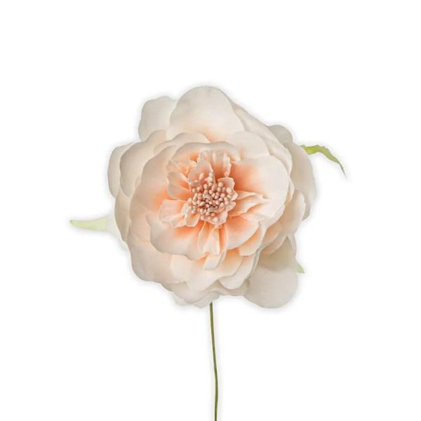 Applicazione bomboniera fiore ortensia cipria