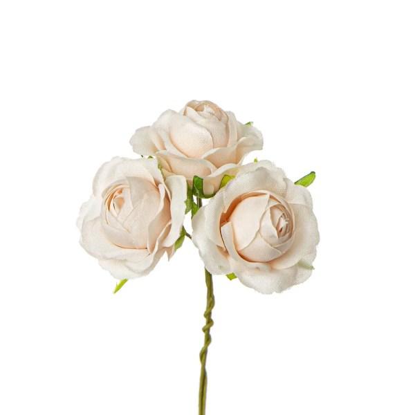 Bomboniera fiore rosetta cipria
