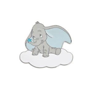 Bomboniera Calamita Metallo Dumbo Azzurro -0