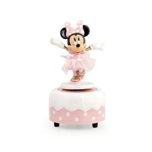 Bomboniera carillon Minnie ballerina con scatola-0