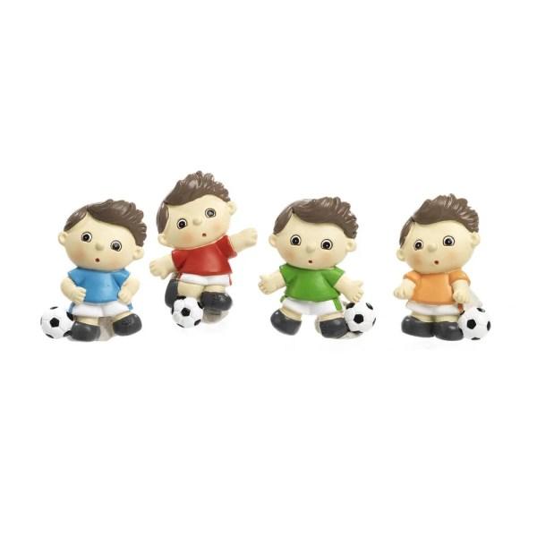 Bomboniera calciatore spiritoso con magnete 4 assortiti
