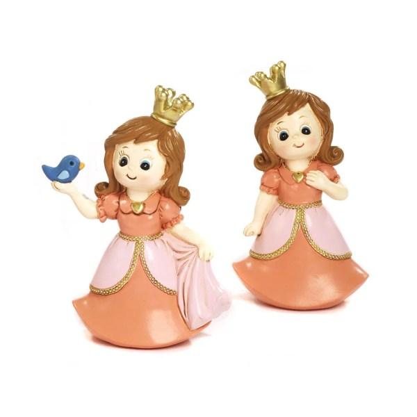 Bomboniera comunione principessa in resina 2 assortite