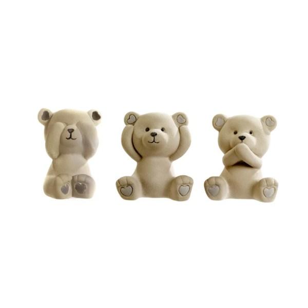 Bomboniera orsetto in porcellana con scatola