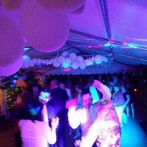 Inrichting partytent Partyverhuur
