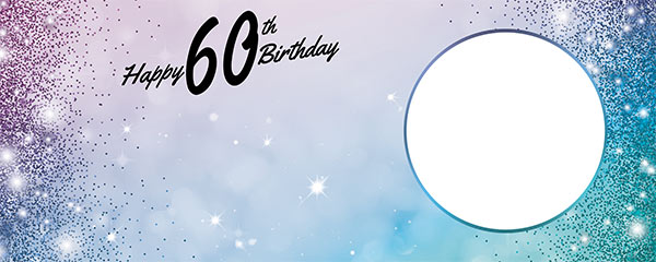 Happy 80th Birthday Sparkles Gold Pink Design Large Personalised Banner 10ft X 4ft Partyfest De