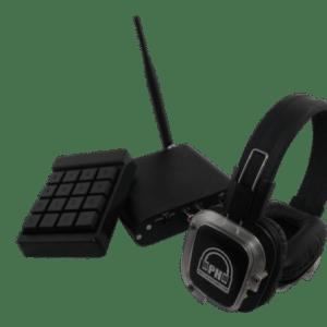 Power Amp Party Headphones Silent Disco Bundle