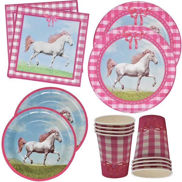 Pony And Horse Birthday Party Supplies Ridingcorner Com