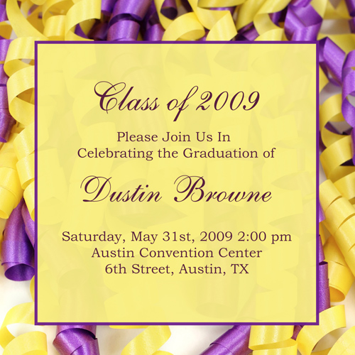15+ Graduation Party Invitations – Party Ideas