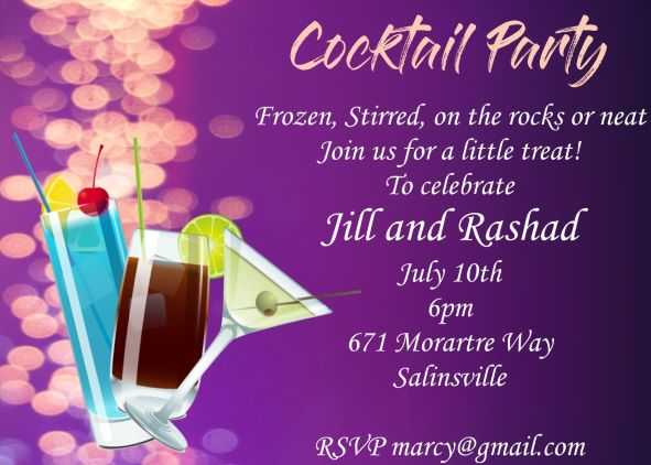 Summer Party Invitations For NEW Selections 2018