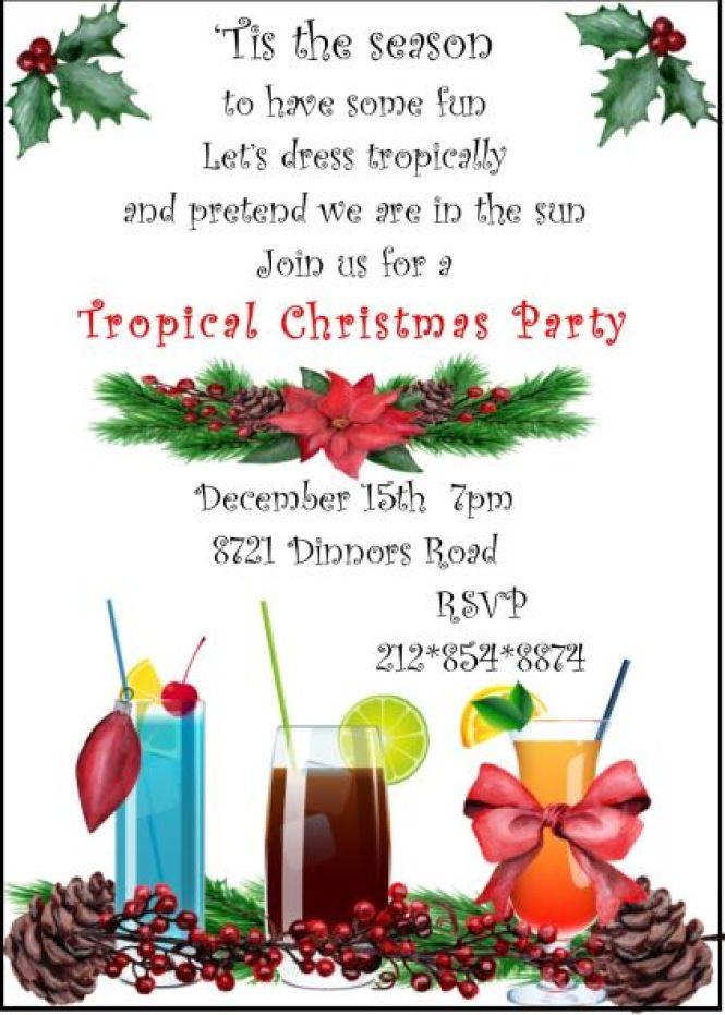 cute christmas party invitation ideas : Cogimbo.us