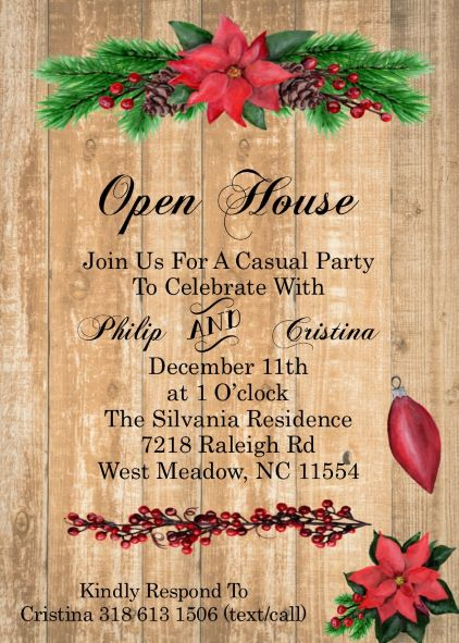 Kids And Family Christmas Party Invitations New For 2019