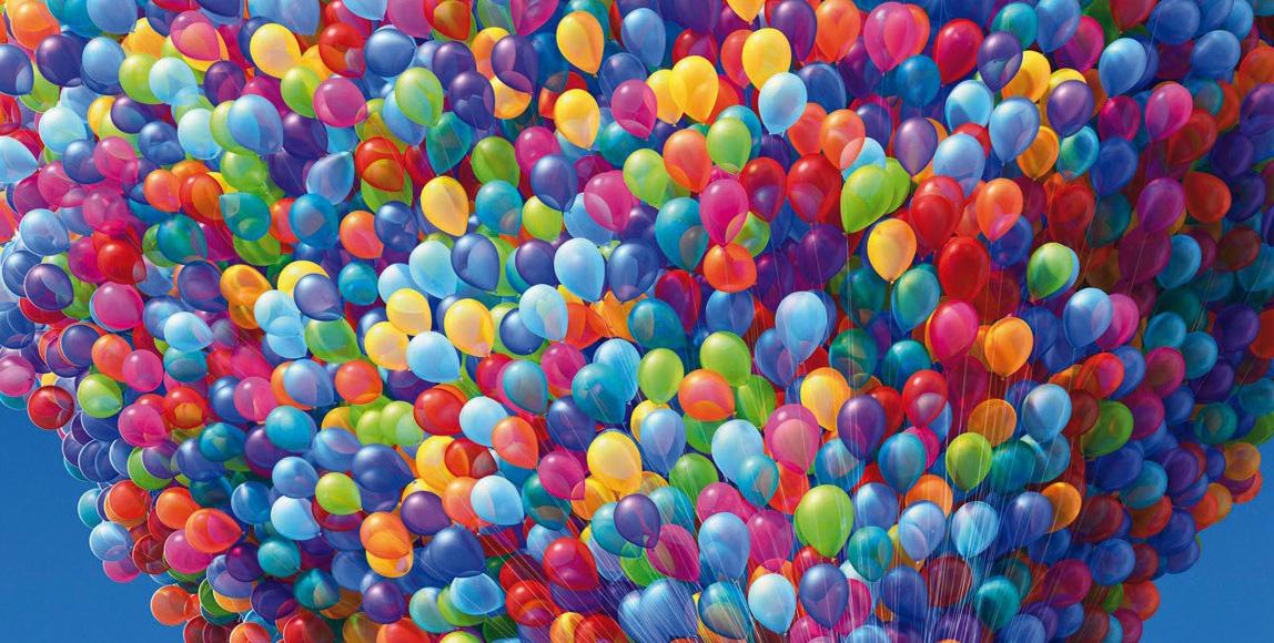 Dollar Tree Birthday Balloons