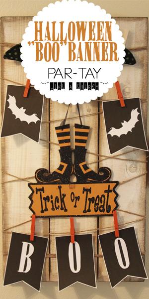 "free printable halloween ""boo"" banner"