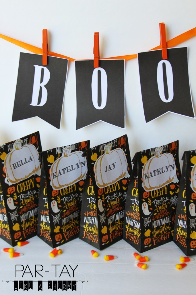 halloween pumpkin tags